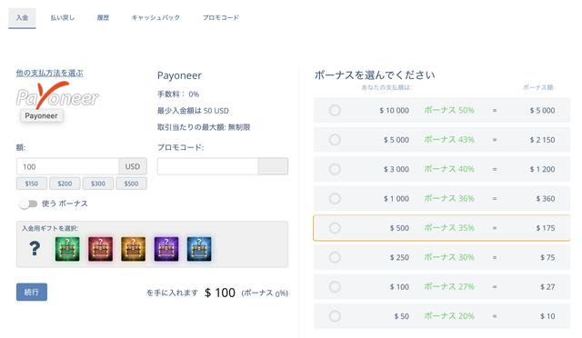 pocketoption-payoneer